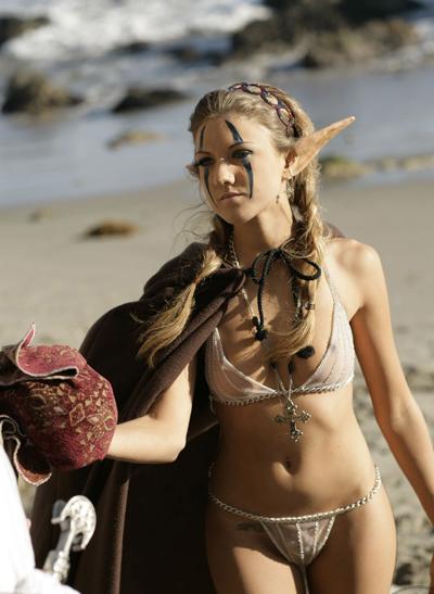 Mia Rose Draenei Priestess - Warcraft Porn