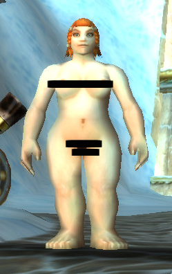 Done using the WoW nude mod patch. Nude Dwarf Female. Comments Off