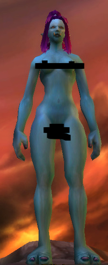 World of Warcraft Nude Female Troll