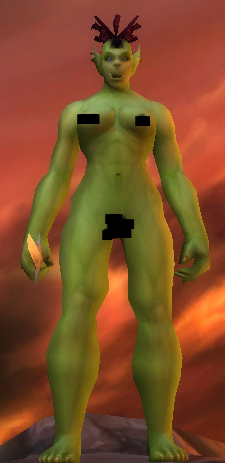 World of Warcraft Nude Orc Female