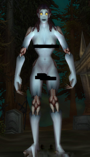World of Warcraft Nude Mod Undead Female